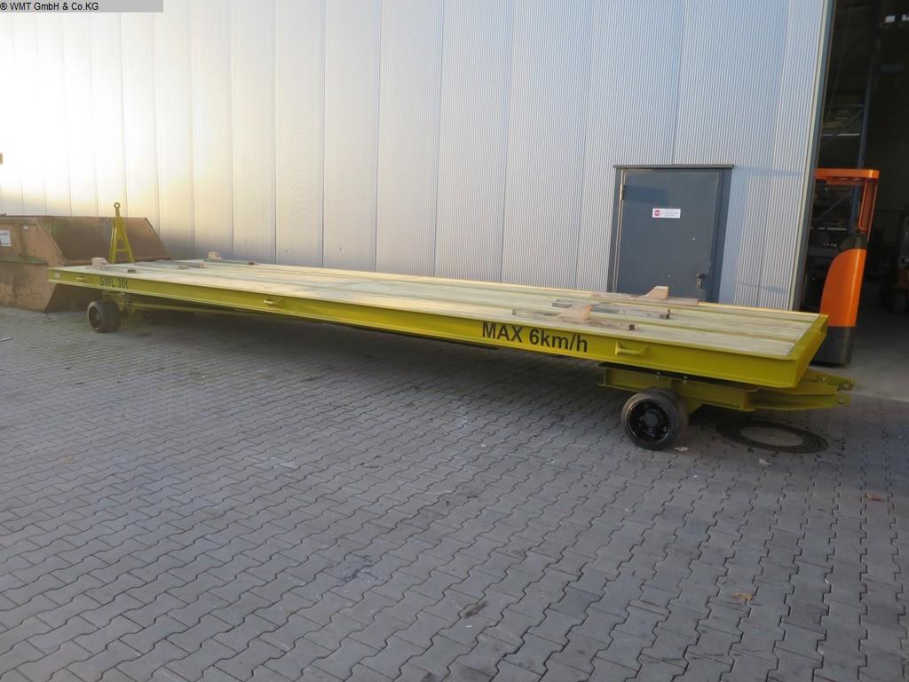 gebrauchte Förder- und Lagertechnik Schwerlastanhänger WMT D30/9,0 x 2,5