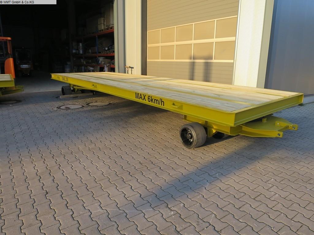 gebrauchte Förder- und Lagertechnik Schwerlastanhänger WMT A33/7,0 x 2,5