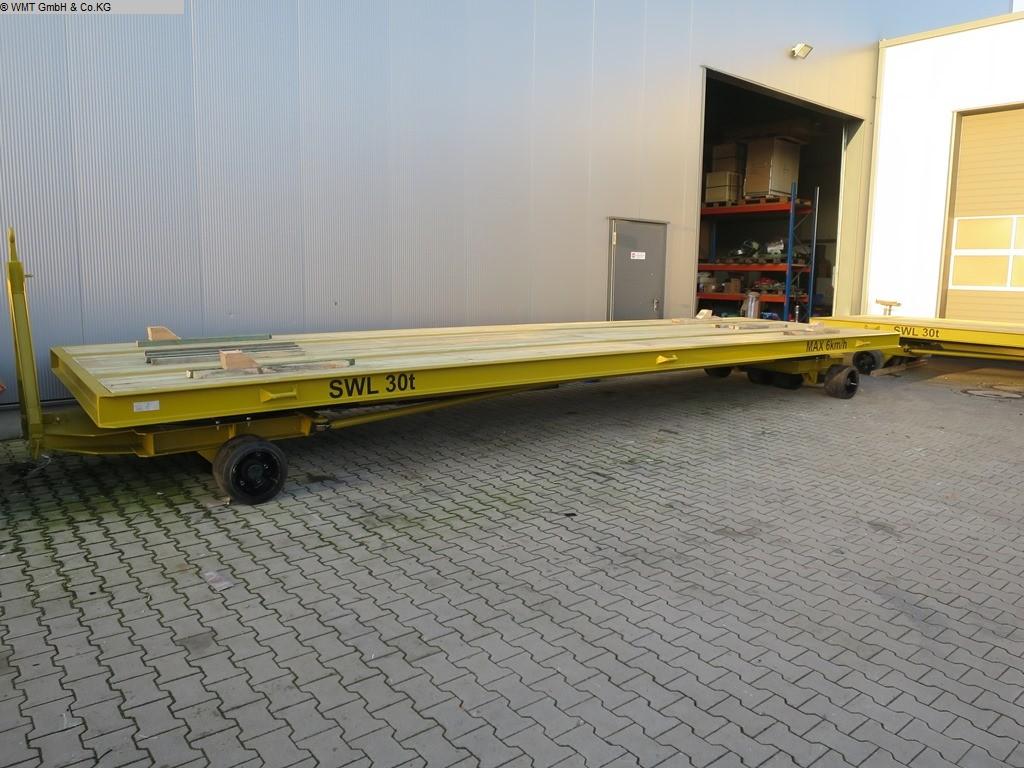 gebrauchte Förder- und Lagertechnik Schwerlastanhänger WMT D40/9,0 x 3,0