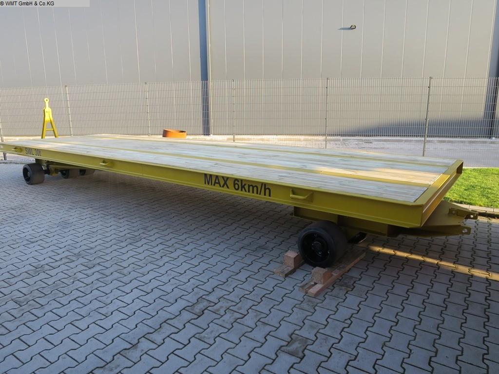 gebrauchte Förder- und Lagertechnik Schwerlastanhänger WMT D40/8,0 x 3,0