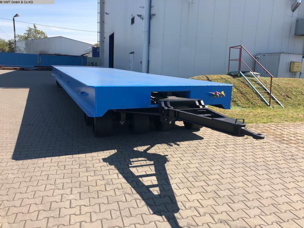 gebrauchte Förder- und Lagertechnik Schwerlastanhänger WMT D80/12,0 x 3,0