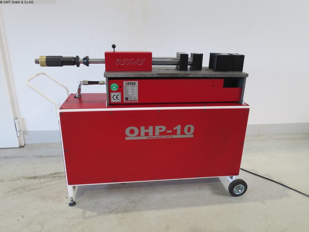 used Sheet metal working / shaeres / bending bending machine horizontal OSTAS OHP-10