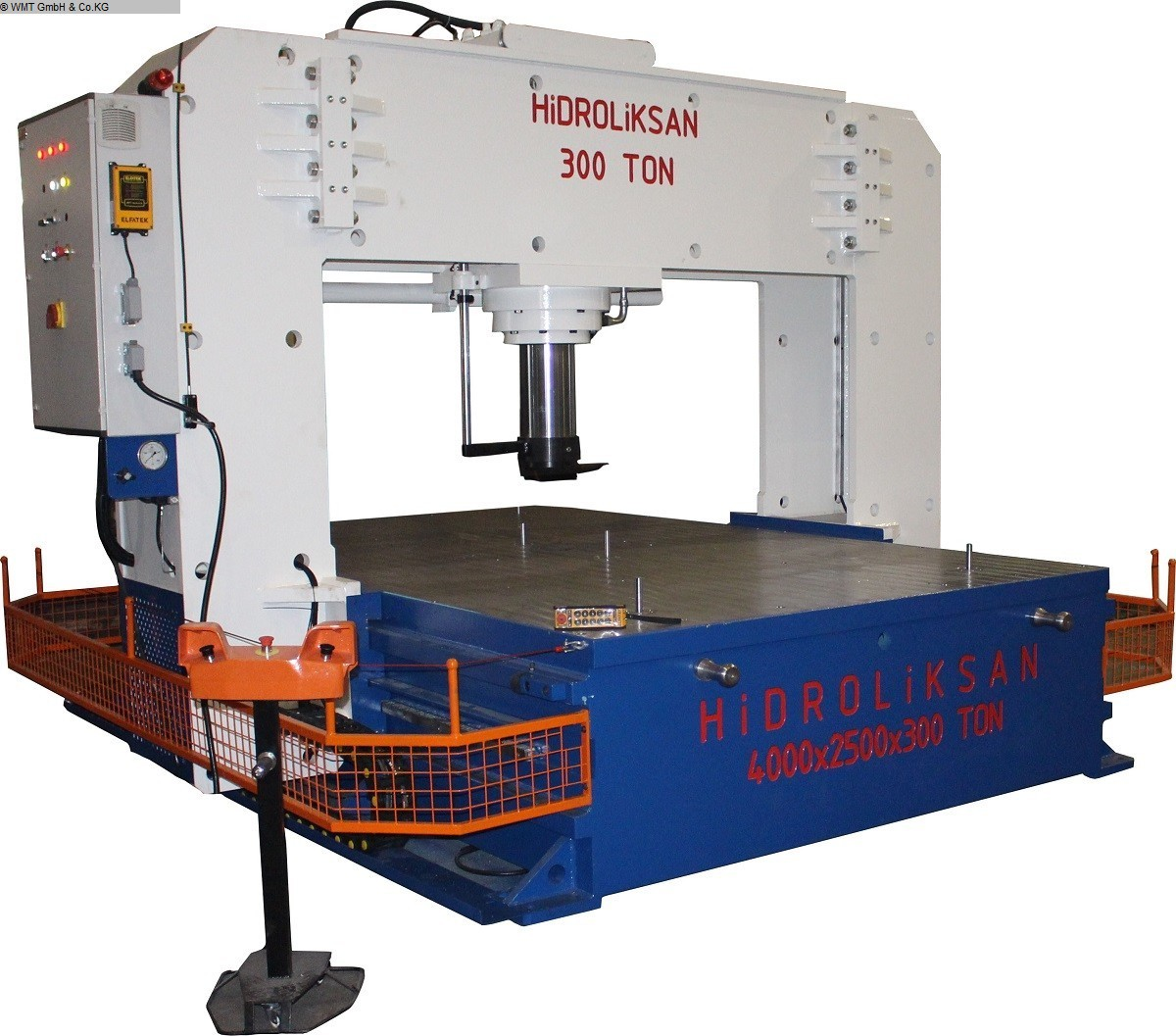 used Presses Straightening Press - Double Column HIDROLIKSAN HSPS 500