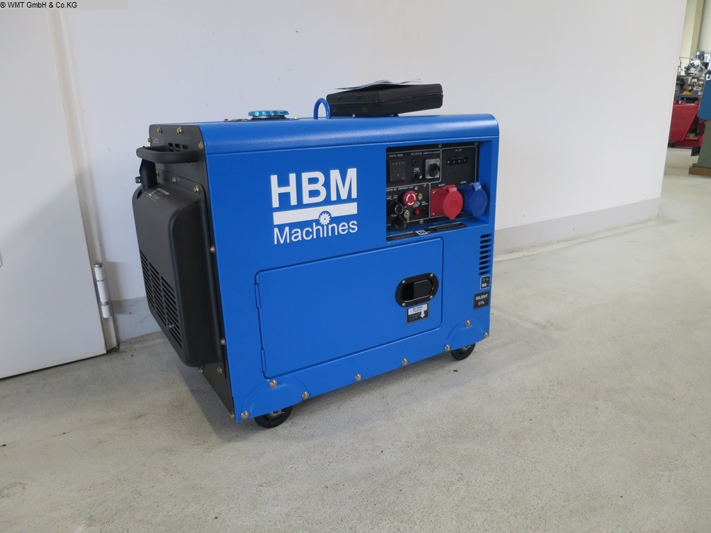 używany agregat prądotwórczy Maszyny zasilające HBM HBM 7900