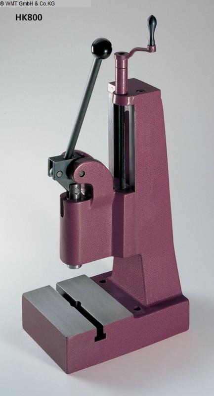 Presses à bascule Presses - Colonne unique BERG & SCHMID HK 800