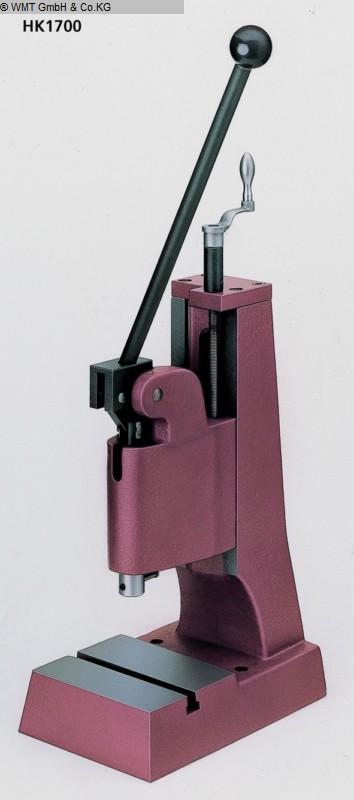 Presses à bascule Presses - Colonne unique BERG & SCHMID HK 1700