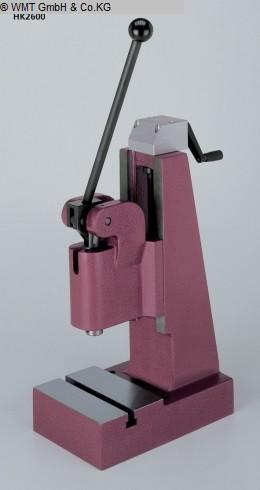 Presses à bascule Presses - Colonne unique BERG & SCHMID HK 2600
