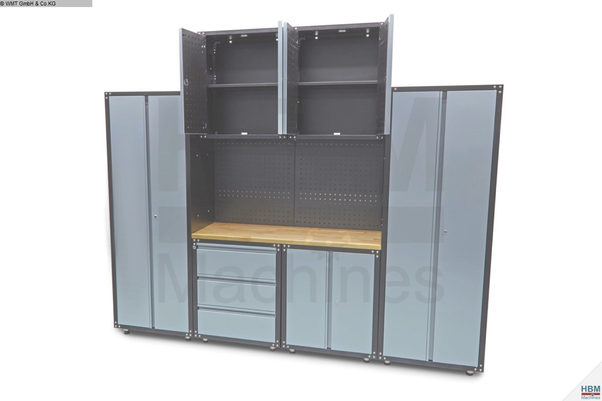 used Workshop equipment Tool cabinets WMT Modular 9-teilig
