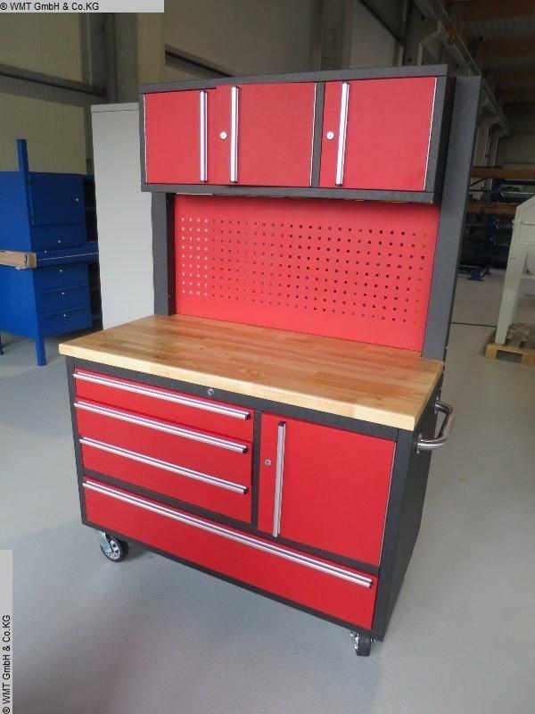 Equipamiento de taller carro de herramientas WMT 122 / schwarz usado