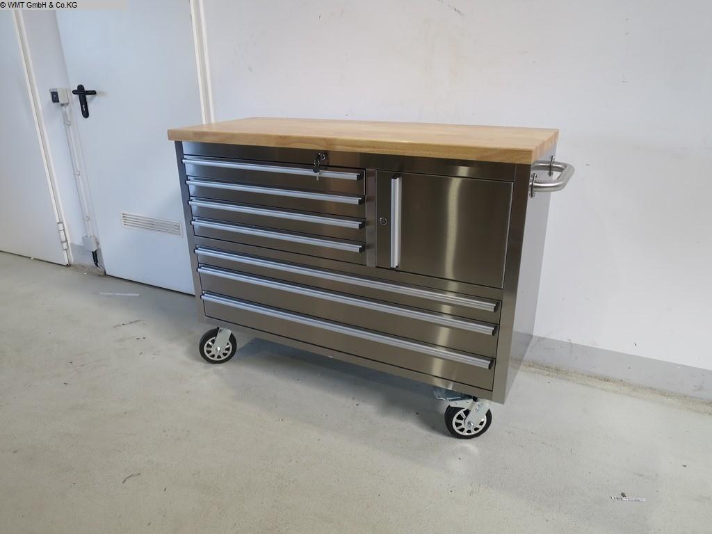 Équipements d'atelier chariots à outils WMT WMT 122 RVS occasion