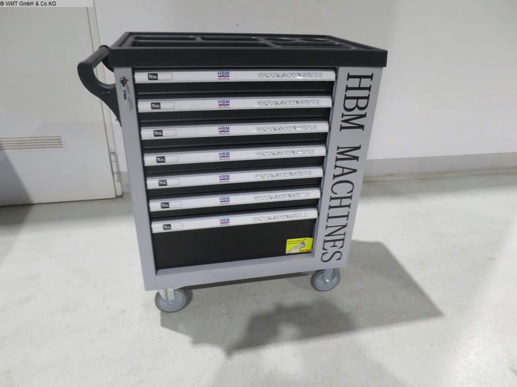 używany Narzędzia i urządzenia przemysłowe Wózki narzędziowe HBM HBM 07 sw
