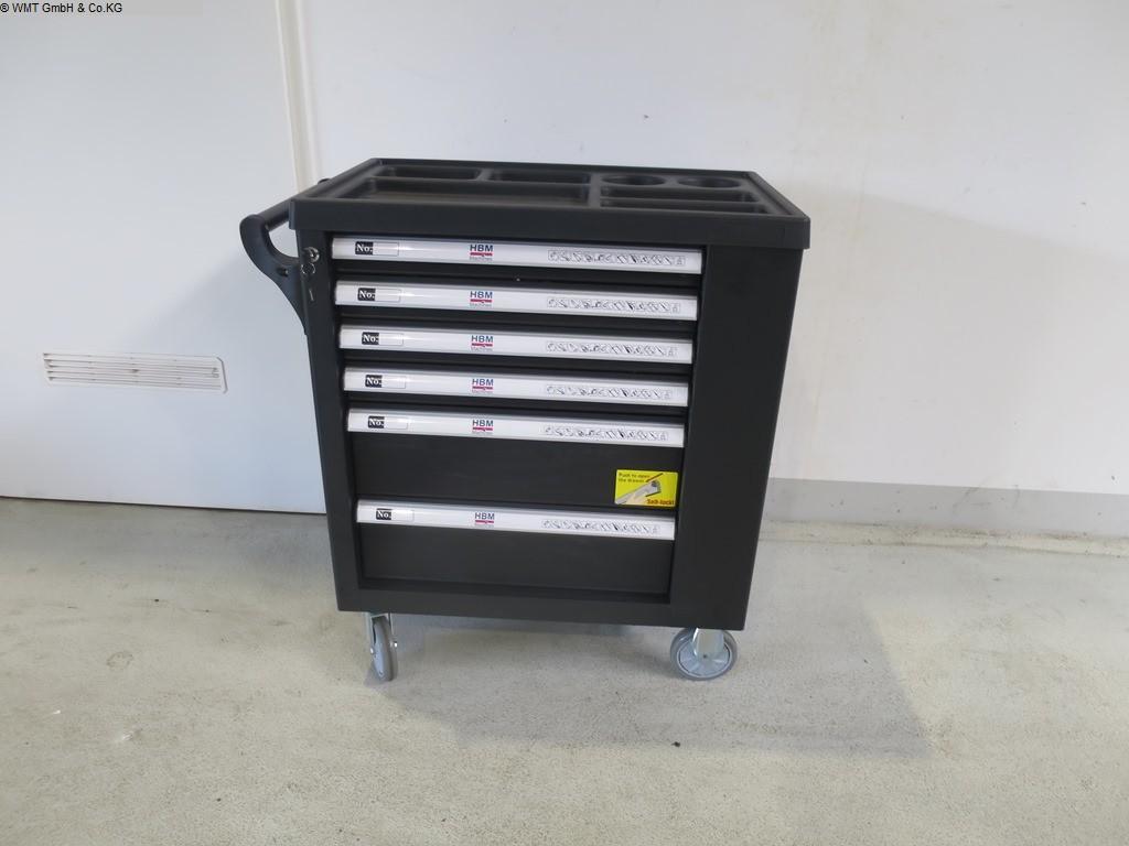 Używane narzędzia i urządzenia przemysłowe Wózki narzędziowe HBM HBM 154