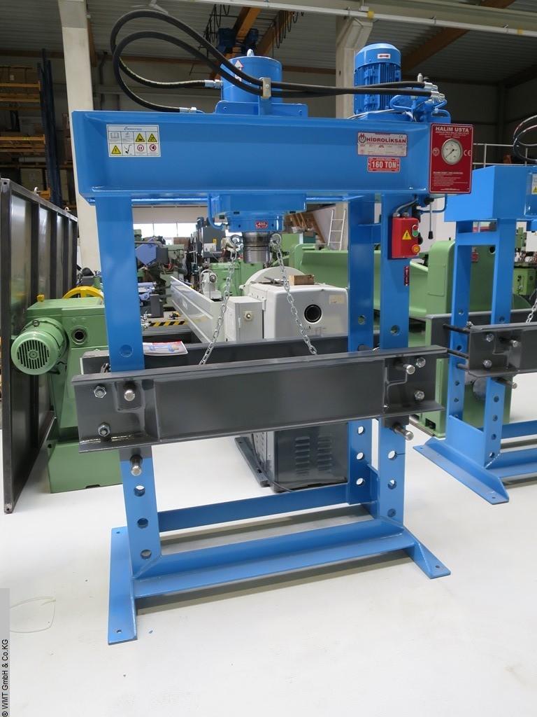 used Presses Tryout Press - hydraulic HIDROLIKSAN HD 160 - 1100