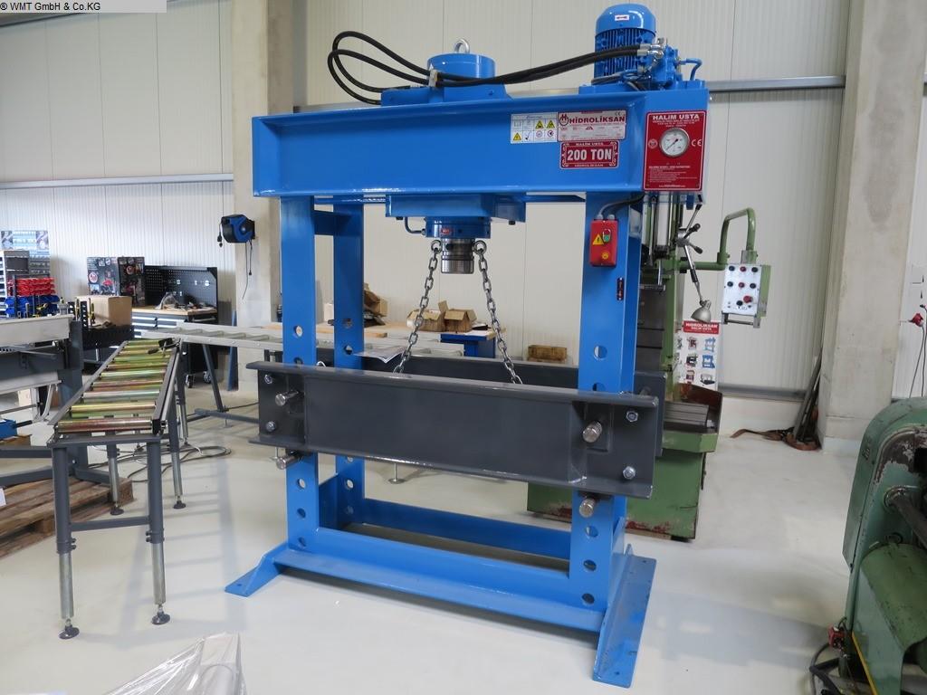 used Presses Tryout Press - hydraulic HIDROLIKSAN HD 200 - 1300