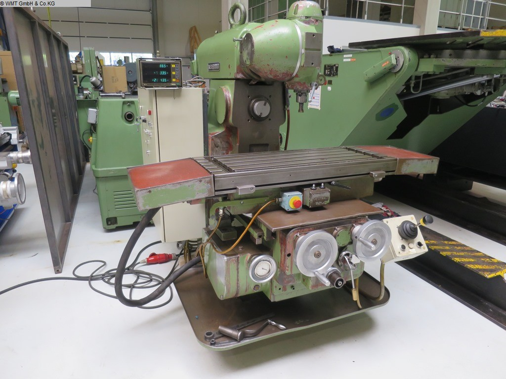 used Tool Room Milling Machine - Universal RECKERMANN UNI 1000