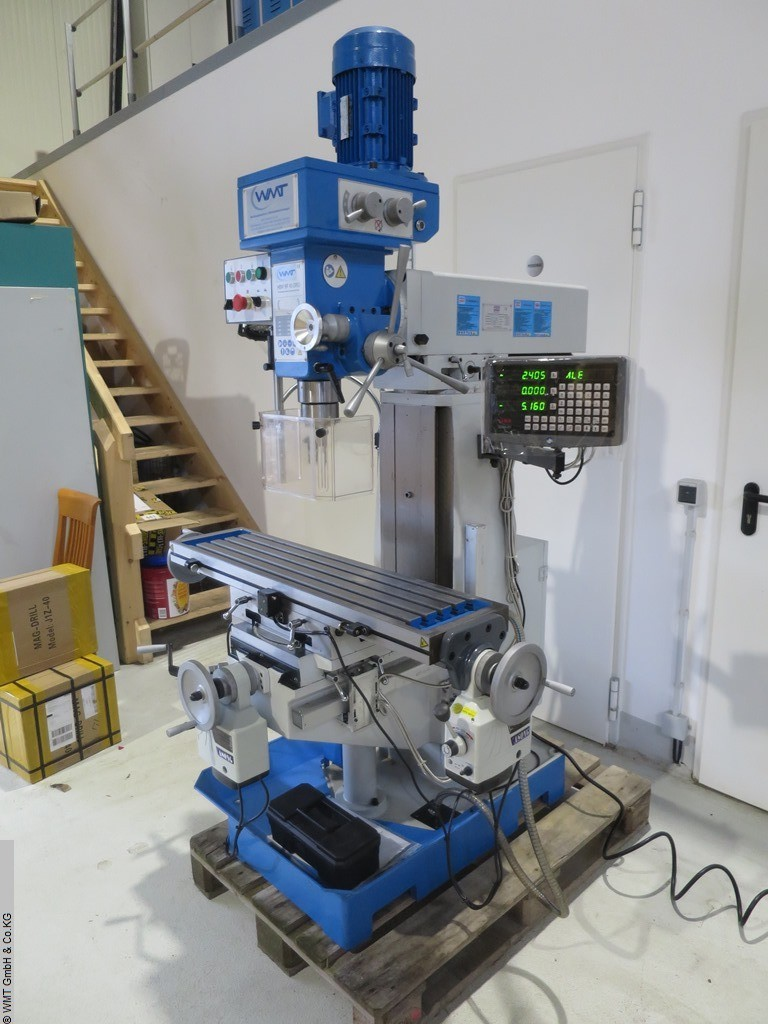 used Drilling and Milling M/C HBM BF 60