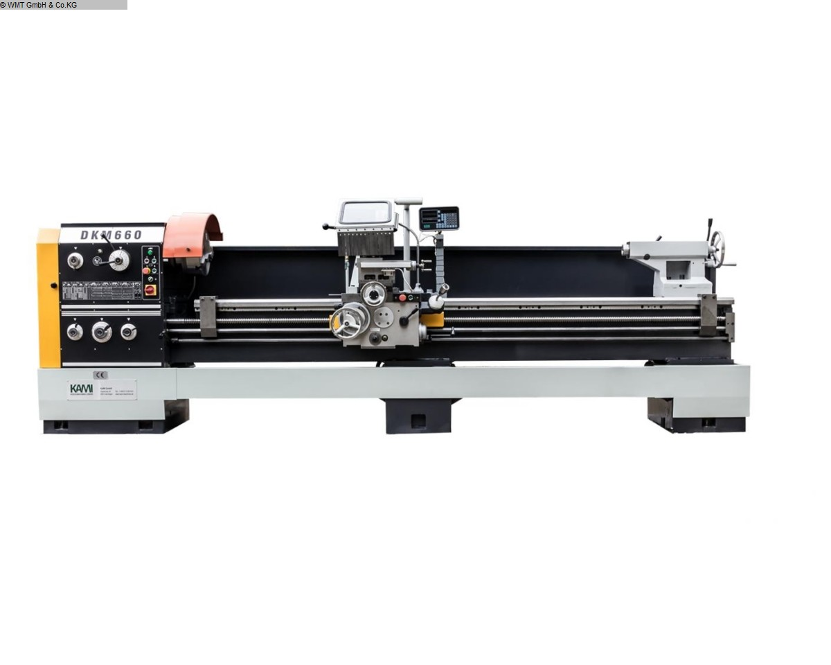 gebrauchte  Leit- und Zugspindeldrehmaschine KAMI DKM 660 S
