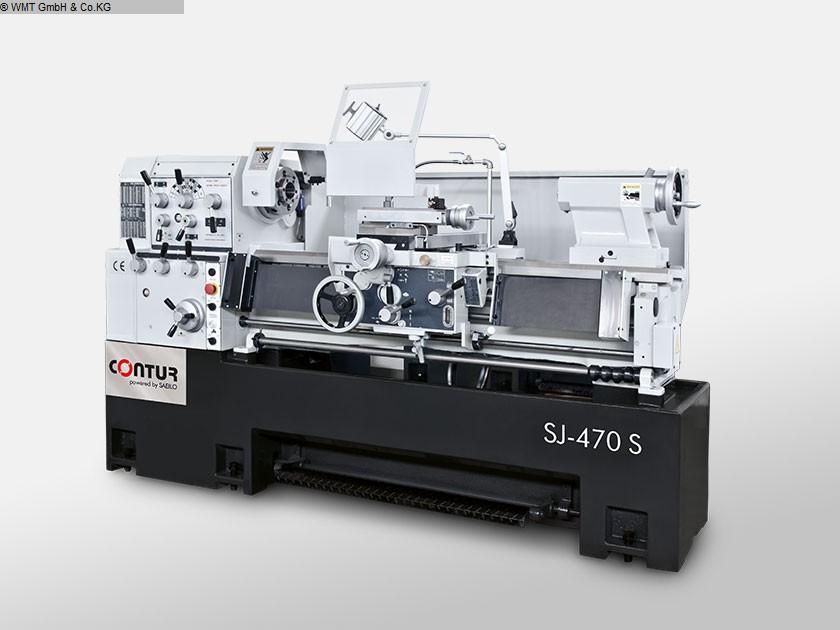 gebrauchte  Leit- und Zugspindeldrehmaschine SAEILO CONTUR SJ-470 / 1000 S