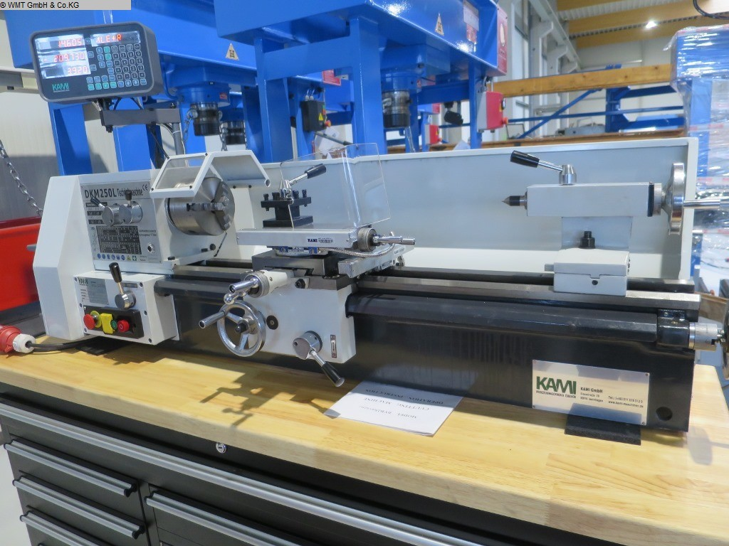 used  Bench Lathe KAMI DKM 250L-1