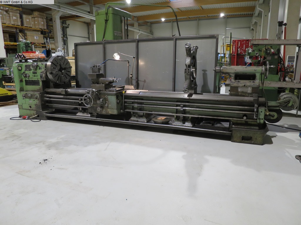 used  Center Lathe WEIPERT W 630 e