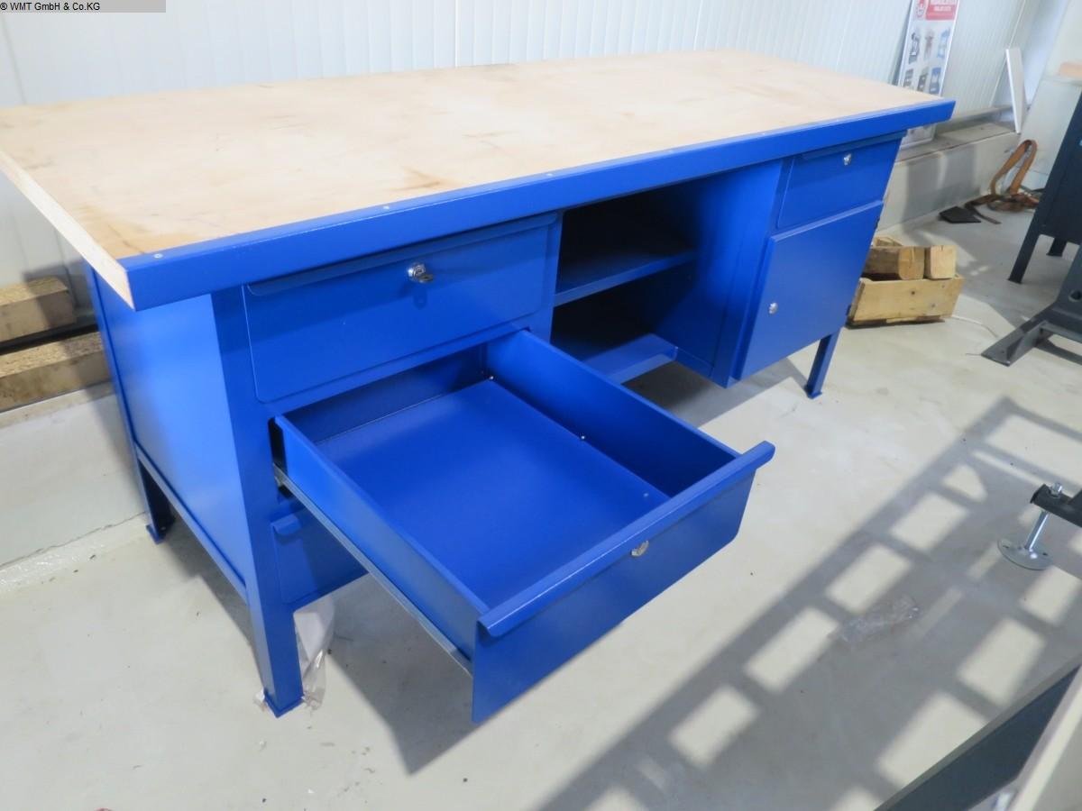 gebrauchte Werkstatteinrichtung / Betriebsausstattung Werkbänke FALKEN Werkbank