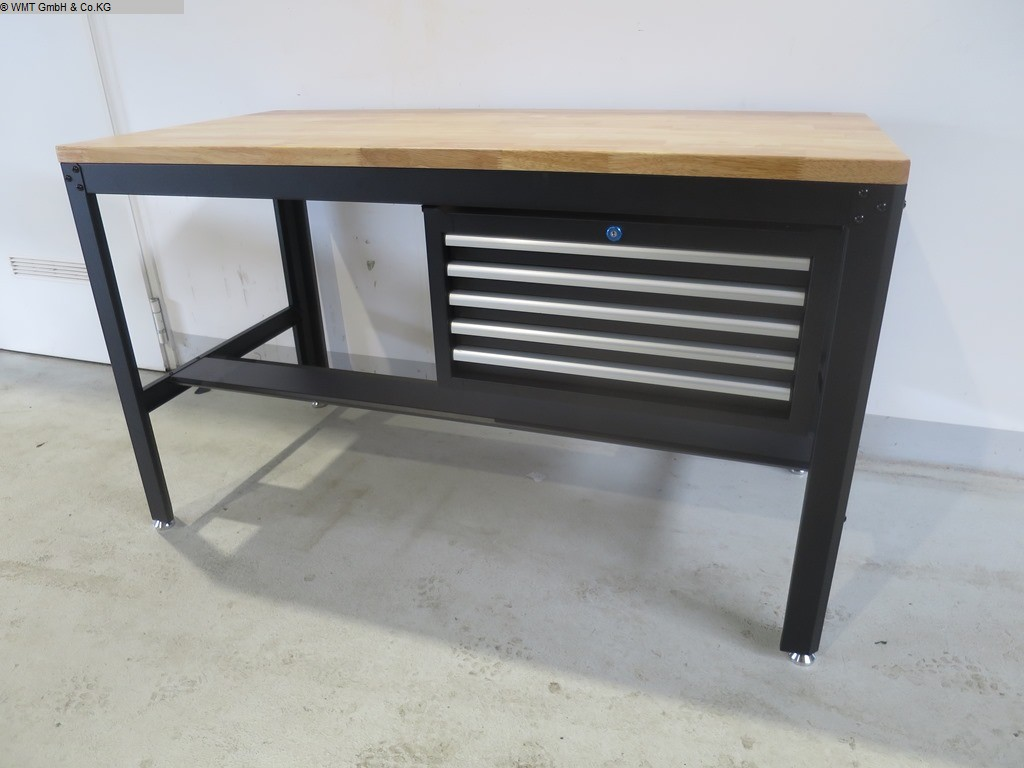 gebrauchte Werkstatteinrichtung / Betriebsausstattung Werkbänke WMT 155/5