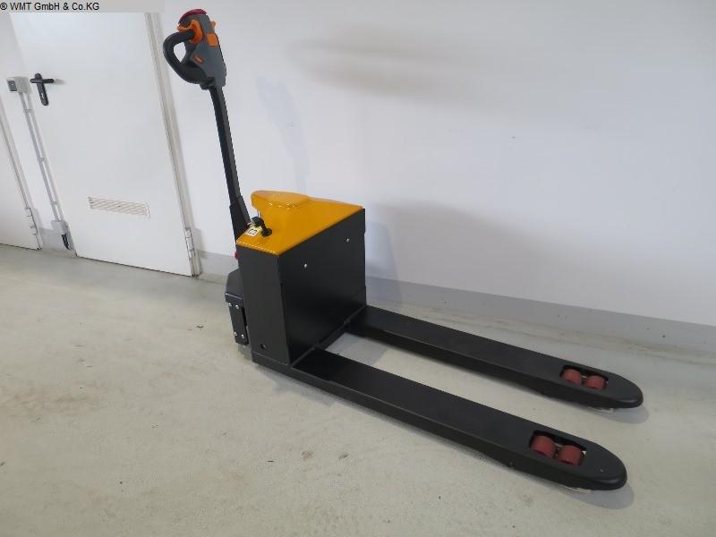 gebrauchte Werkstatteinrichtung Gabelhubwagen Elektro WMT EMP 1500