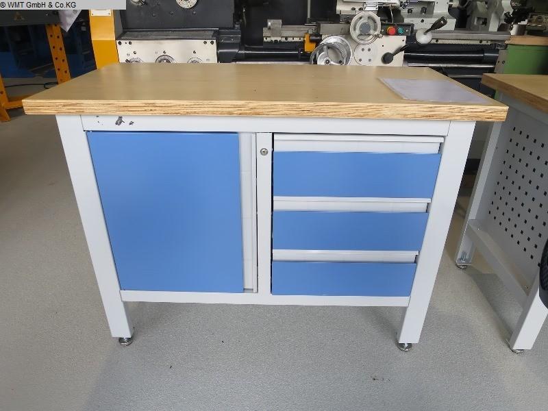 gebrauchte Werkstatteinrichtung Werkbänke WMT WMT 120