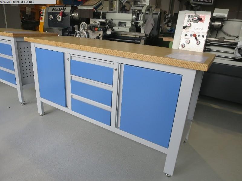 gebrauchte Werkstatteinrichtung Werkbänke WMT WMT 169