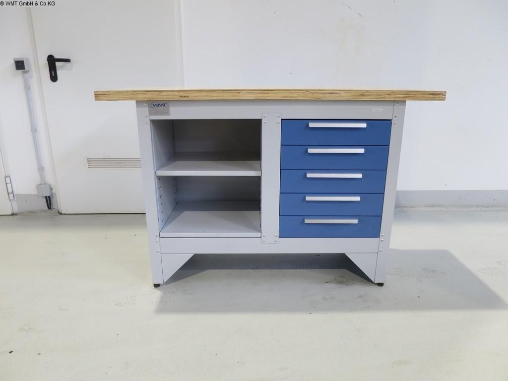 gebrauchte Werkstatteinrichtung Werkbänke WMT WMT 140