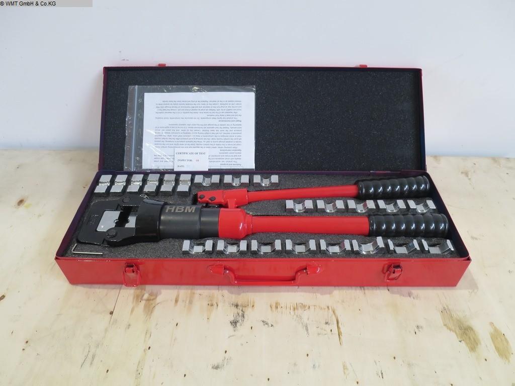 gebrauchte Werkstatteinrichtung / Betriebsausstattung Handwerkzeuge HBM Crimp 16t