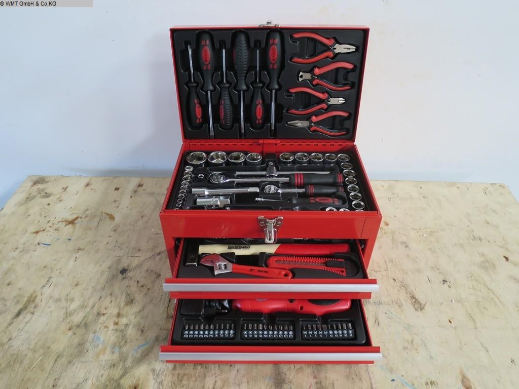 gebrauchte Werkstatteinrichtung / Betriebsausstattung Handwerkzeuge Mannesmann WZ-Box 155-teilig