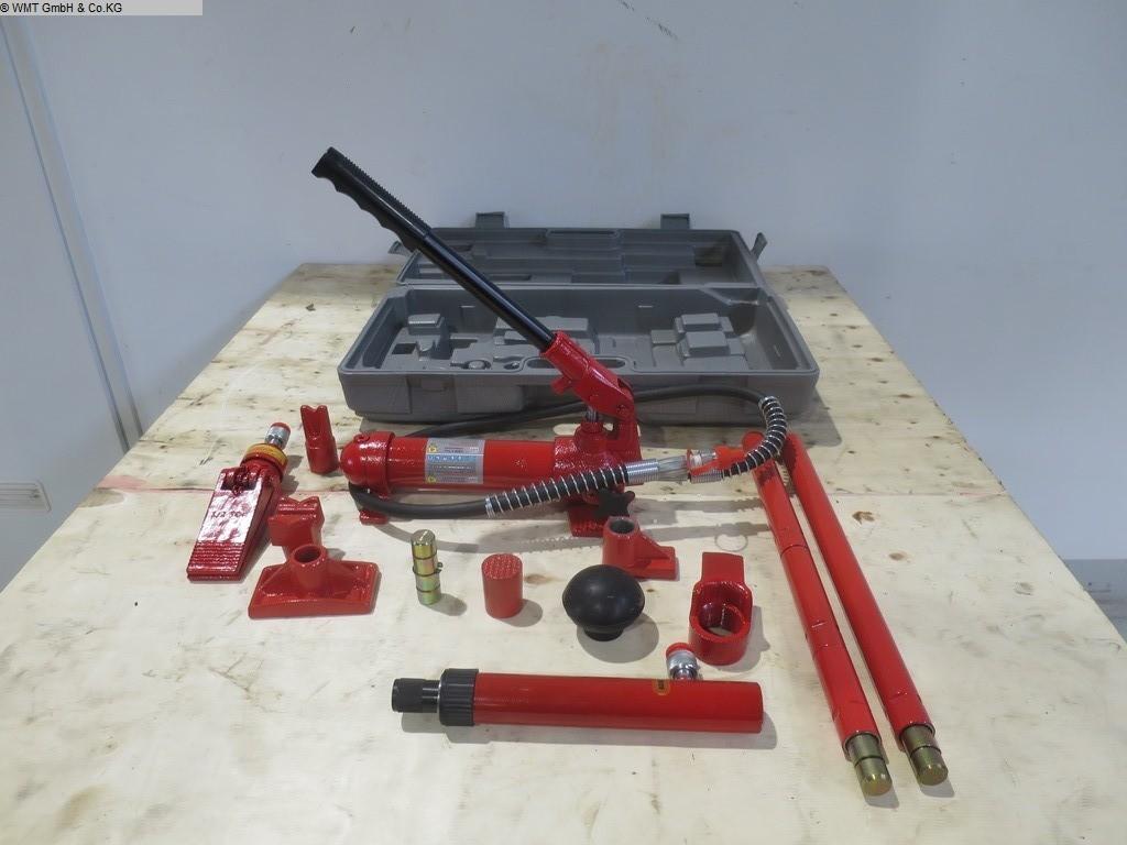 gebrauchte Werkstatteinrichtung / Betriebsausstattung Handwerkzeuge WMT Drueckset 4t