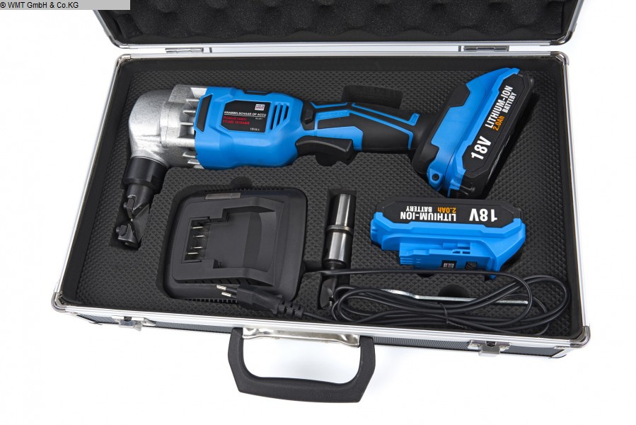gebrauchte Werkzeuge und Industriebedarf Handwerkzeuge HBM Accu-Nibbler 1,8