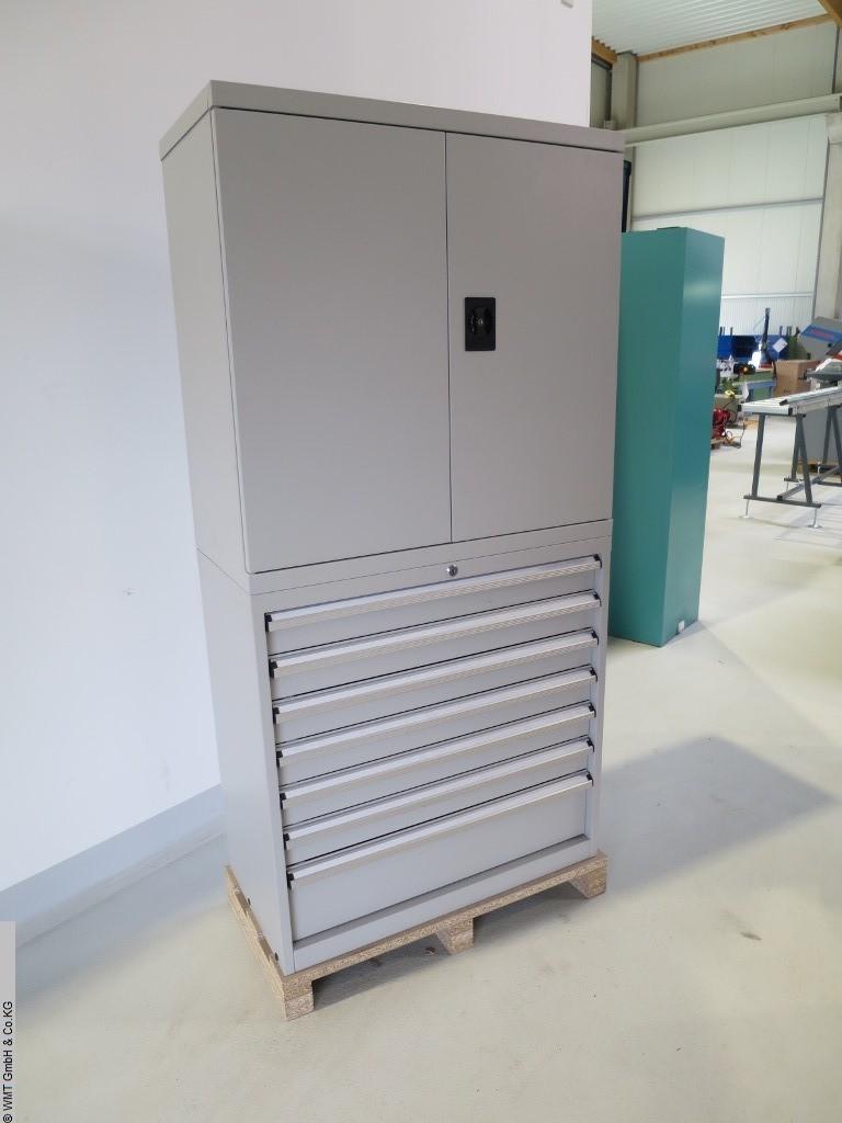 gebrauchte Werkstatteinrichtung / Betriebsausstattung Werkzeugschränke WMT Profi Kombi