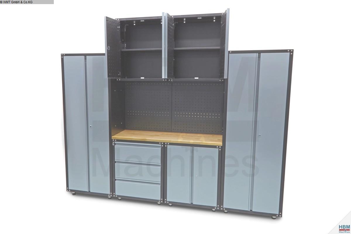 gebrauchte Werkstatteinrichtung / Betriebsausstattung Werkzeugschränke WMT Modular 9-teilig