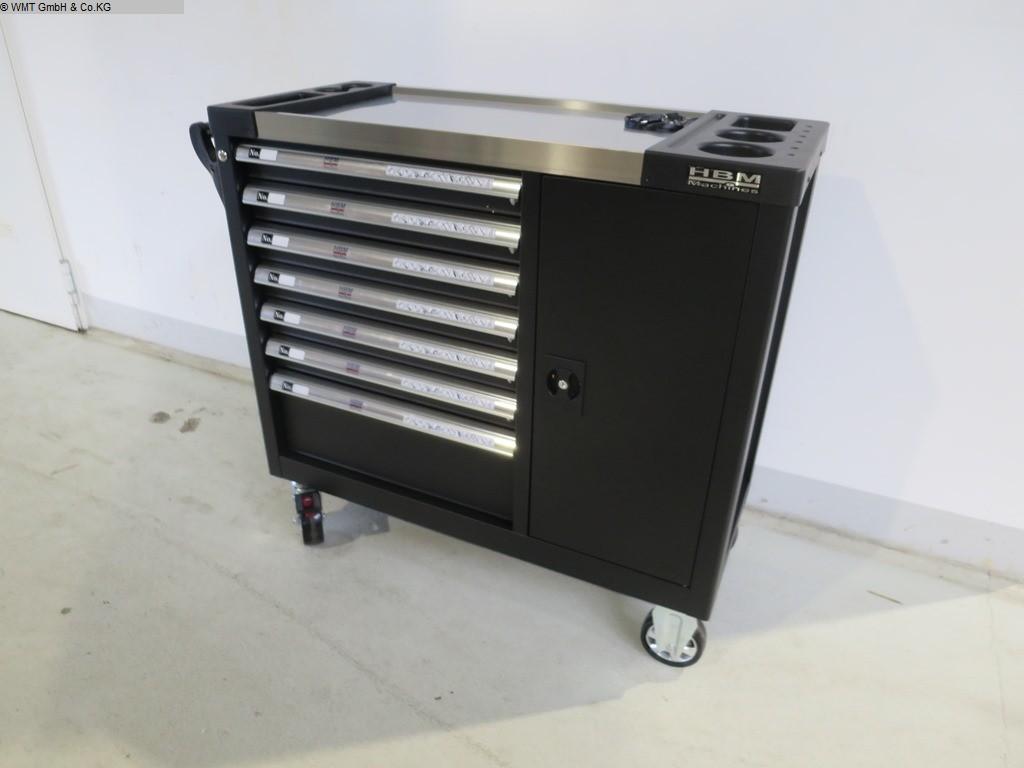 gebrauchte Werkstatteinrichtung / Betriebsausstattung Werkzeugwagen HBM HBM 274 XL