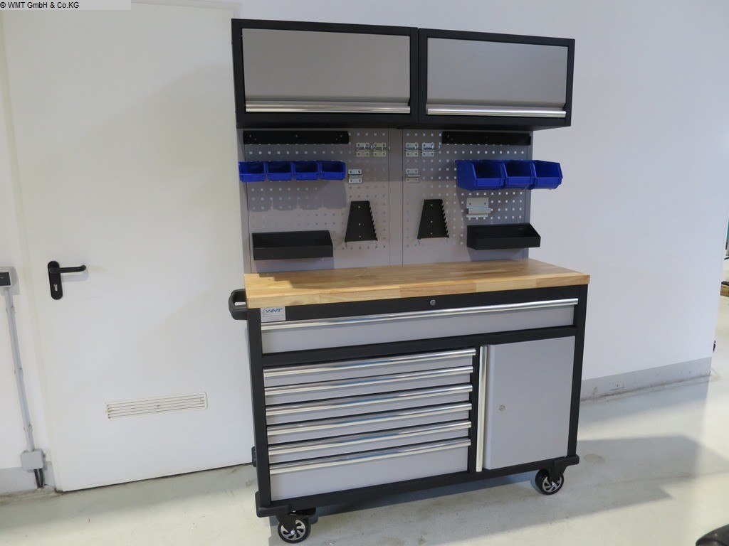 gebrauchte Werkstatteinrichtung / Betriebsausstattung Werkzeugwagen WMT WMT 136