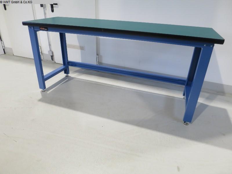 Używane wyposażenie warsztatowe Stoły warsztatowe WMT WMT 200