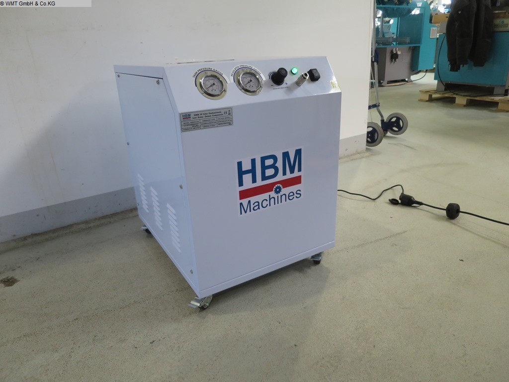 used Workshop equipment Compressors HBM Dental 50