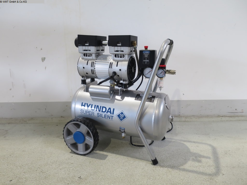 used Workshop equipment Compressors HYUNDAI Super Silent 24