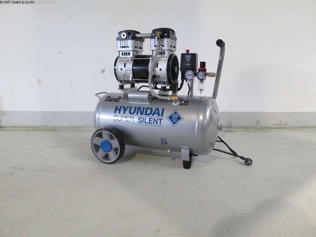 used Workshop equipment Compressors HYUNDAI Super Silent 50
