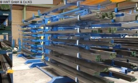 used cantilever shelving system GUSTOS D-6-3000-D