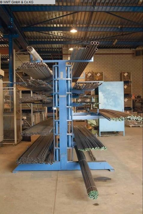 used cantilever shelving system GUSTOS D-5-1500-D