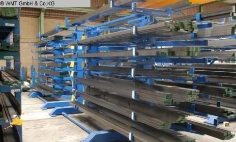 used cantilever shelving system GUSTOS D-6-1500-D