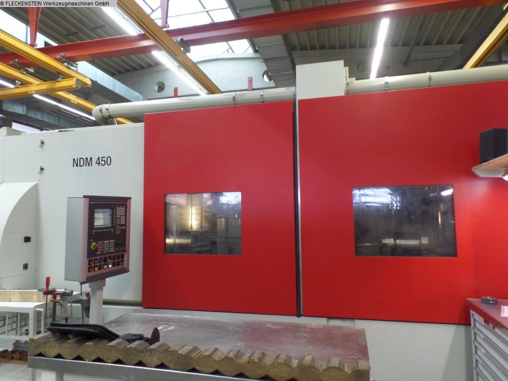 used CNC Turning- and Milling Center MAG NDM 450-4-300