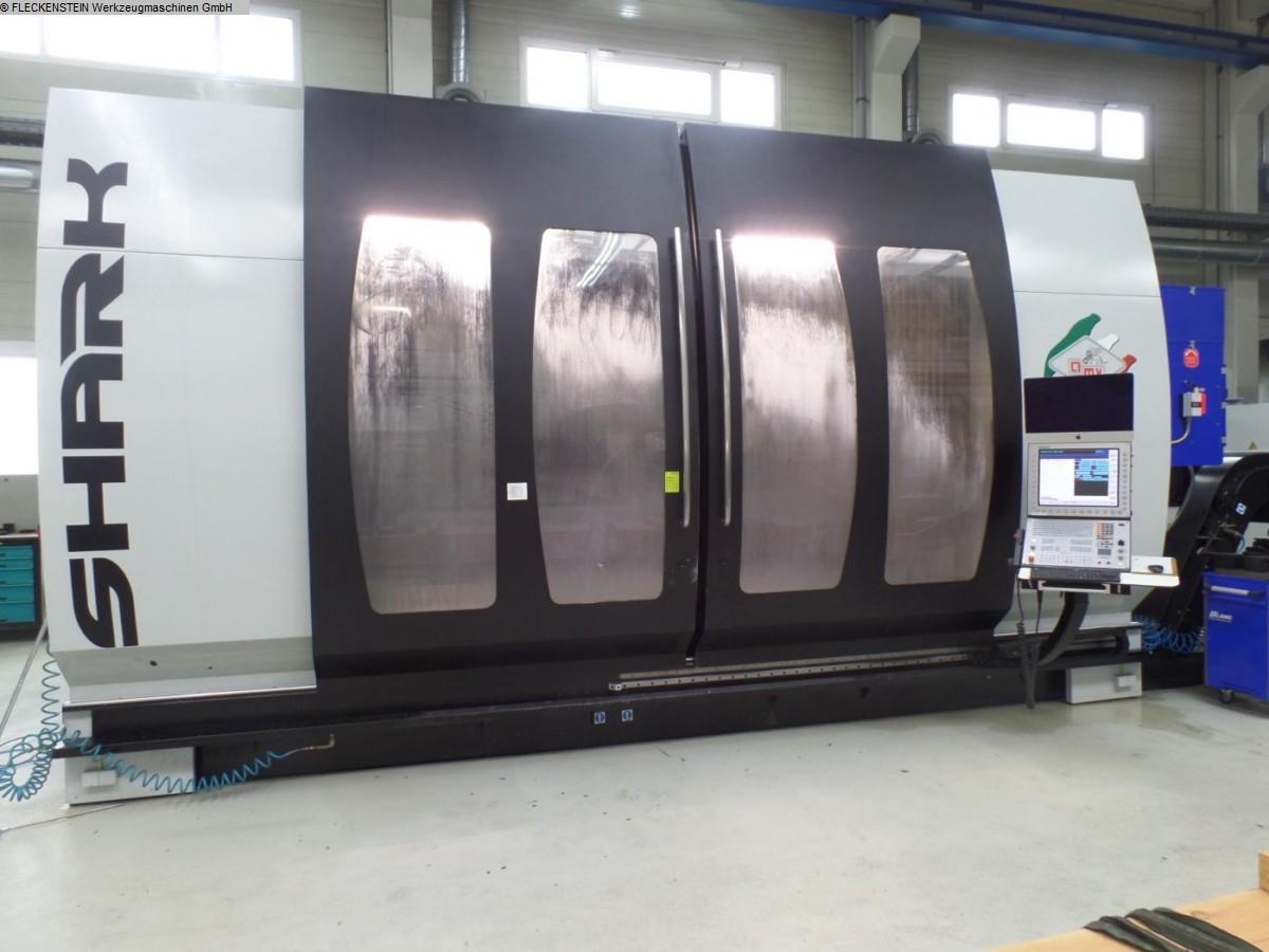 gebrauchte Fräsmaschinen Fahrständerfräsmaschine PARPAS SHARK One