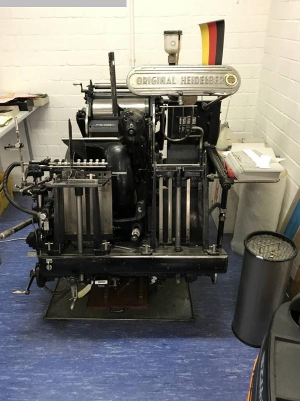 gebrauchte Maschine Buchdruckmaschinen HEIDELBERG OHT