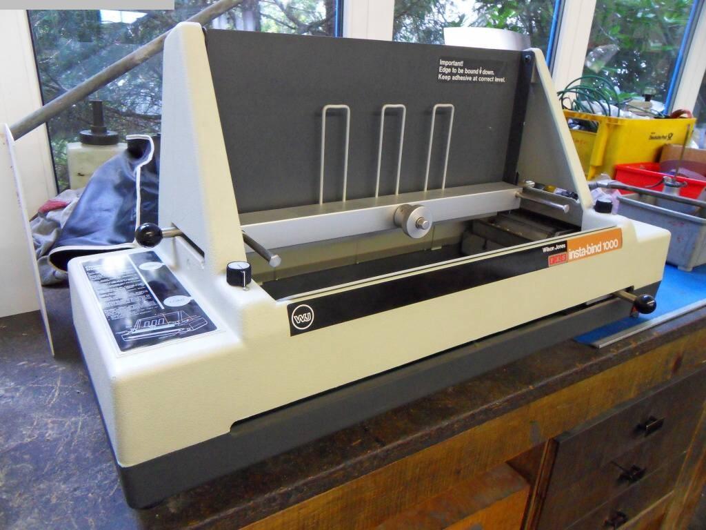gebrauchte Maschine Klebebinder Wilson Jones Company Insta-bind 1000