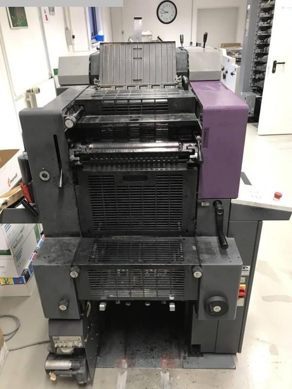 gebrauchte Bogenoffsetdruck 2 Farben / Druckwerke HEIDELBERG QM 46-2